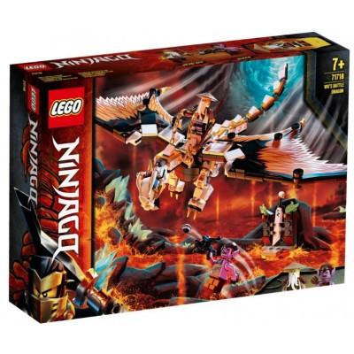 LEGO® NINJAGO® Wu's Battle Dragon 71718