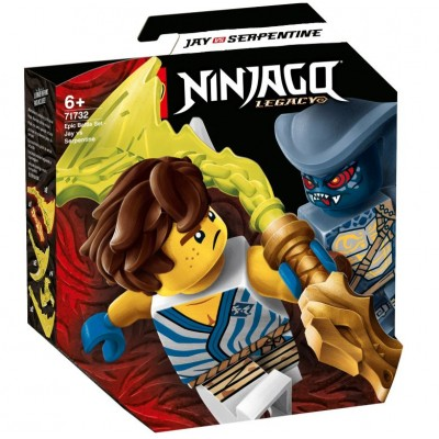 LEGO® NINJAGO® Epic Battle Set – Jay vs. Serpentine 71732