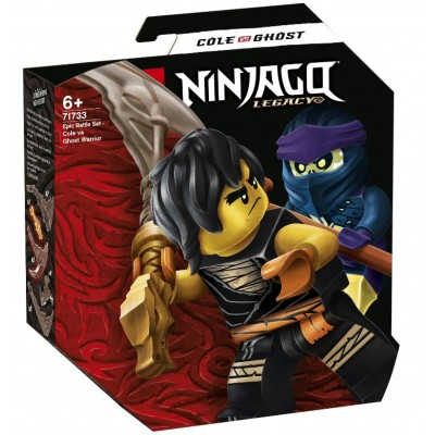 LEGO® NINJAGO® Epic Battle Set – Cole vs. Ghost Warrior 71733