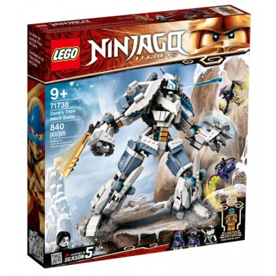 LEGO® NINJAGO® Zane's Titan Mech Battle 71738