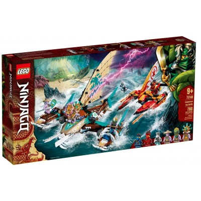 LEGO® NINJAGO® Catamaran Sea Battle 71748