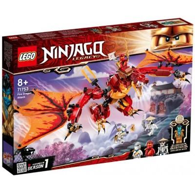 LEGO® NINJAGO® Fire Dragon Attack 71753