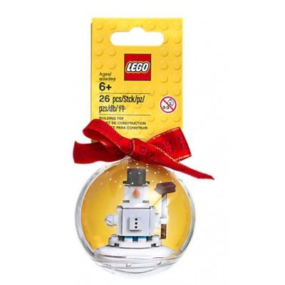 LEGO® Iconic Christmas Ornament Snowman