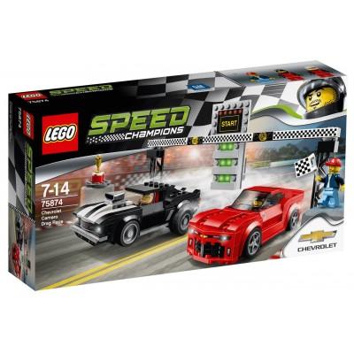 LEGO® Speed Champions Chevrolet Camaro Drag Race 75874