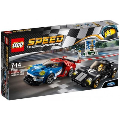 LEGO® Speed Champions 2016 Ford GT & 1966 Ford GT40 75881