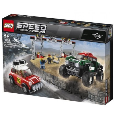 LEGO® Speed Champions 1967 Mini Cooper S Rally and 2018 MINI John Cooper Works Buggy 75894