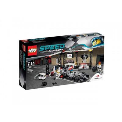 LEGO® McLaren Mercedes Pit Stop75911