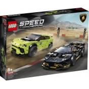 LEGO® Speed Champions Lamborghini Huracán Super Trofeo EVO and Lamborghini Urus ST-X 76899
