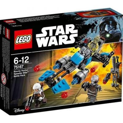 LEGO® Star Wars™ Bounty Hunter Speeder Bike™ Battle Pack