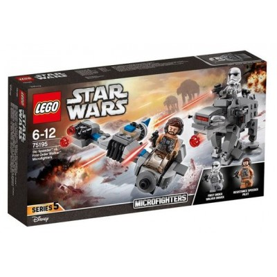 LEGO® Star Wars™ Ski Speeder vs. First Order Walker Microfighters 75195