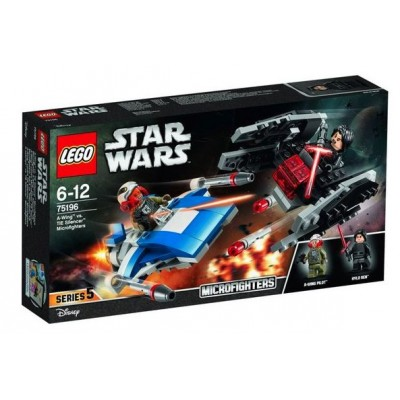 LEGO® Star Wars™ A-Wing vs. TIE Silencer Microfighters 75196
