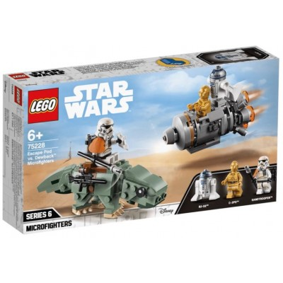LEGO® Star Wars™ Escape Pod vs. Dewback Microfighters 75228