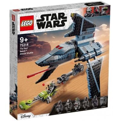 LEGO® Star Wars™ The Bad Batch™ Attack Shuttle 75314