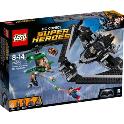 LEGO® DC Super Heroes™ Heroes of Justice: Sky High Battle 76046