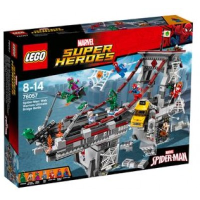 LEGO® Marvel Super Heroes™ Spider-Man: Web Warriors Ultimate Bridge Battle 76057