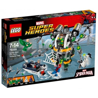 LEGO® Marvel Super Heroes™ Spider-Man: Doc Ock's Tentacle Trap 76059