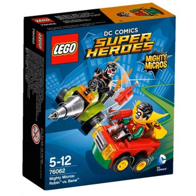 LEGO® DC Super Heroes™ Mighty Micros: Robin™ vs. Bane™ 76062