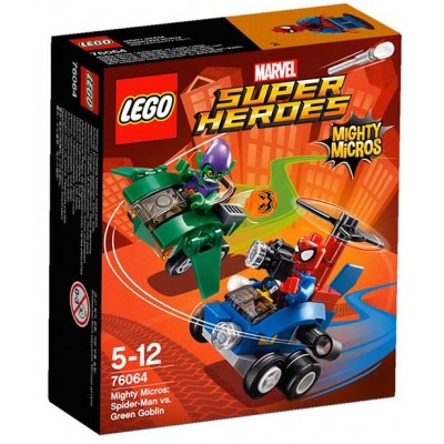 LEGO® Marvel Super Heroes™ Mighty Micros: Spider-Man vs. Green Goblin 76064
