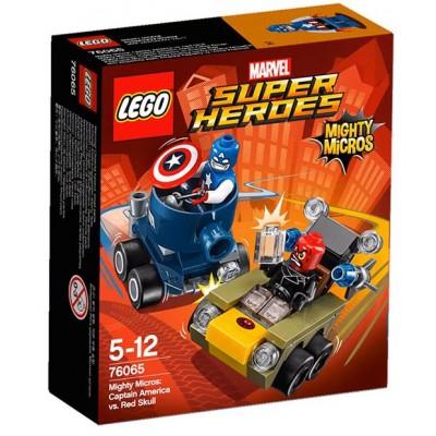 LEGO® Marvel Super Heroes™ Mighty Micros: Captain America vs. Red Skull 76065