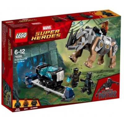 LEGO® Marvel Super Heroes™ Rhino Face-Off by the Mine 76099