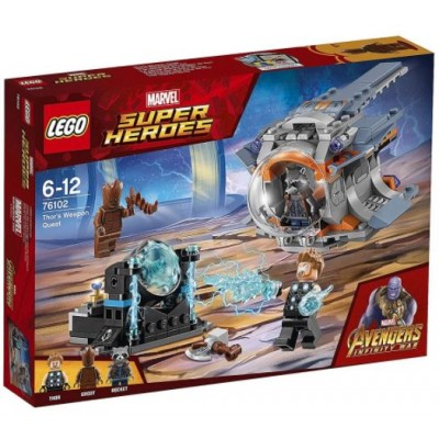 LEGO® Marvel Super Heroes™ Thor's Weapon Quest 76102