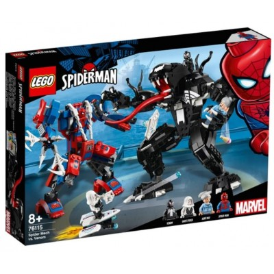 LEGO® Marvel Super Heroes™ Spider Mech vs. Venom 76115