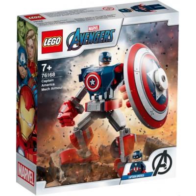 LEGO® Marvel Avengers Captain America Mech Armor 76168