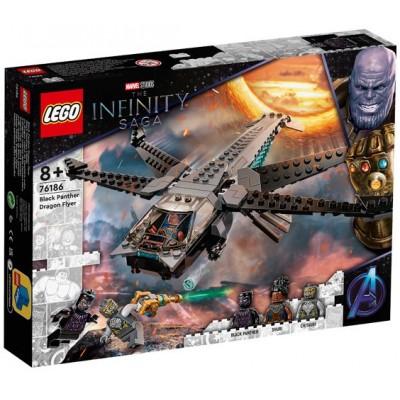 LEGO® Super Heroes Marvel Black Panther Dragon Flyer 76186