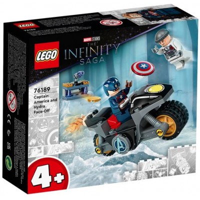 LEGO® Super Heroes Marvel Captain America and Hydra Face-Off 76189