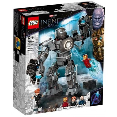 LEGO® Super Heroes Marvel Iron Man: Iron Monger Mayhem 76190