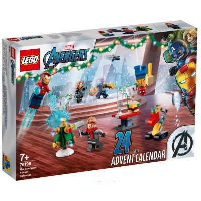 LEGO® Super Heroes Marvel The Avengers Advent Calendar 2021 76196