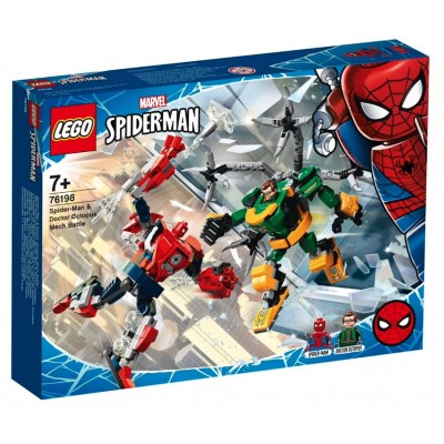 LEGO® Super Heroes Marvel Spider-Man: Spider-Man & Doctor Octopus Mech Battle 76198