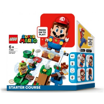 LEGO® Super Mario™ Adventures with Mario Starter Course 71360 - PRE ORDER, Delivery from 1st August