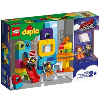 LEGO® THE LEGO® MOVIE 2™ DUPLO® Emmet and Lucy's Visitors from the DUPLO Planet 10895