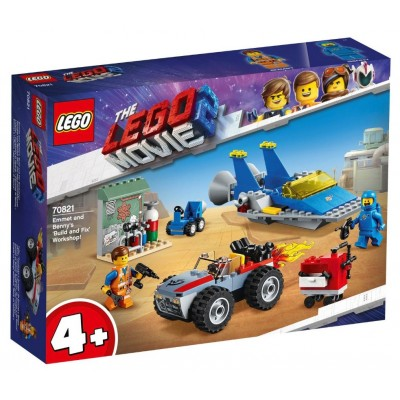 LEGO® THE LEGO® MOVIE 2™ Emmet and Benny's 'Build and Fix' Workshop 70821