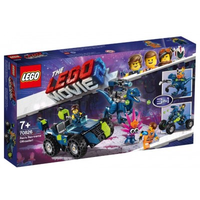 LEGO® THE LEGO® MOVIE 2™ Rex's Rex-treme Offroader 70826