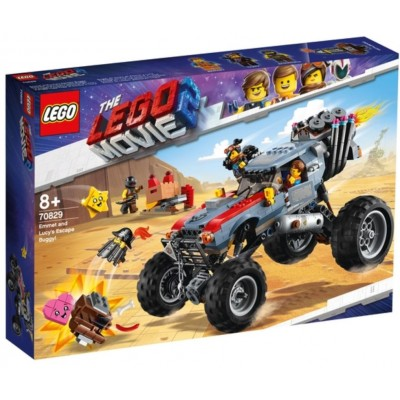 LEGO® THE LEGO® MOVIE 2™ Emmet and Lucy's Escape Buggy 70829