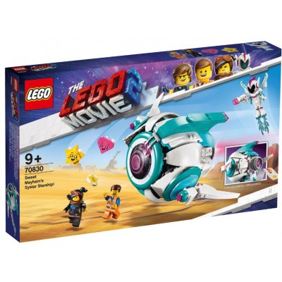 LEGO® THE LEGO® MOVIE 2™ Sweet Mayhem's Systar Starship 70830