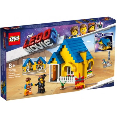 LEGO® THE LEGO® MOVIE 2™ Emmet's Dream House/Rescue Rocket! 70831