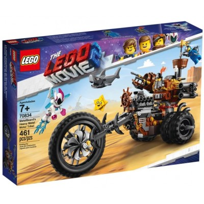 LEGO® THE LEGO® MOVIE 2™ MetalBeard's Heavy Metal Motor Trike 70834