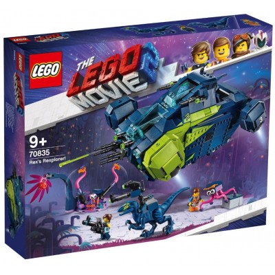 LEGO® THE LEGO® MOVIE 2™ Rex's Rexplorer 70835