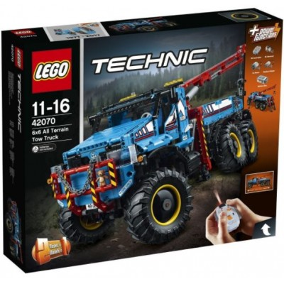 LEGO® Technic™ 6x6 All Terrain Tow Truck 42070