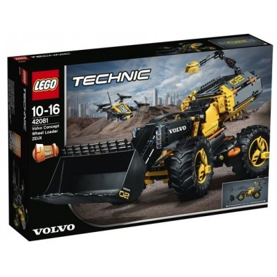 LEGO® Technic™ Volvo Concept Wheel Loader ZEUX 42081