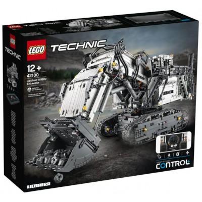LEGO® TECHNIC™ Liebherr R 9800 Excavator 42100