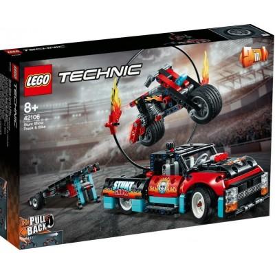 LEGO® Technic™ Stunt Show Truck & Bike 42106