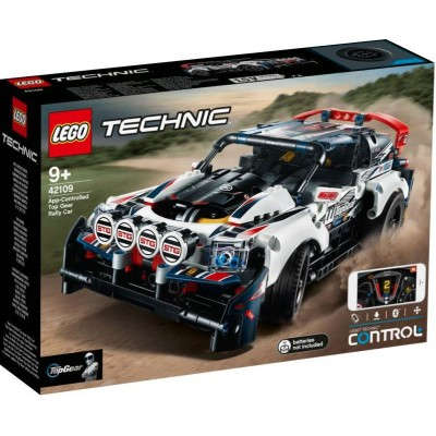 LEGO® Technic™ App-Controlled Top Gear Rally Car 42109
