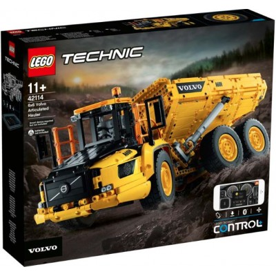 LEGO® Technic™ 6x6 Volvo Articulated Hauler 42114