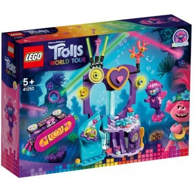 LEGO® Trolls World Tour Techno Reef Dance Party 41250