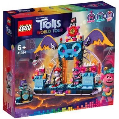 LEGO® Trolls World Tour Volcano Rock City Concert 41254