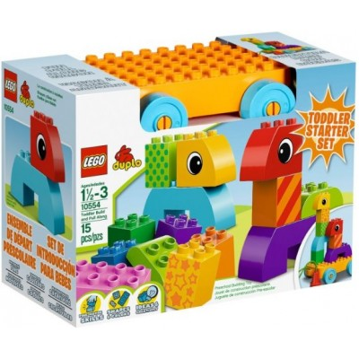 LEGO® DUPLO® Toddler Build and Pull Along 10554